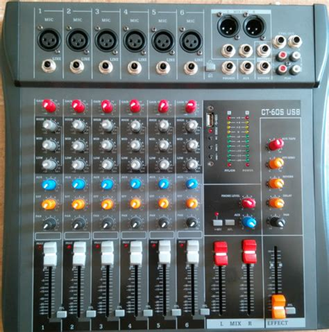 Mixer China 6 Channel buy wholesale audio mixer from china audio mixer