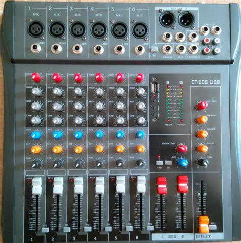 Mixer Audio Merk Tum ct 60s usb dj mixer professional lifier mixer 6 channel audio mixer karaoke mixer ktv