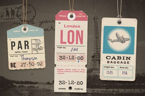 free printable airline luggage tags 25 luggage tag templates free sle exle format