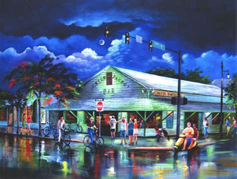 paint nite west island artist rolston landmarks of key west