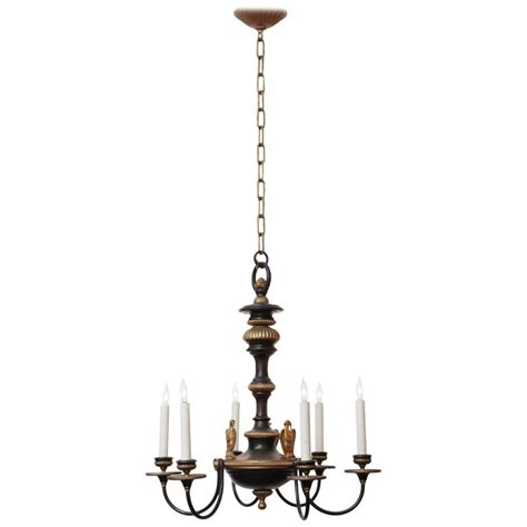 In Style Chandeliers 1910 Federal Style Ef Caldwell Six Light Chandelier With