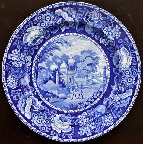 old blue pattern plates blue and white transfer ware page 5 applecross antiques