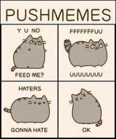 Pusheen Cat Meme - pusheen and simon s cat by and5678dancer on pinterest