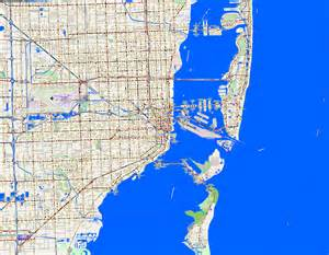 Miami Traffic Map by City Maps Miami