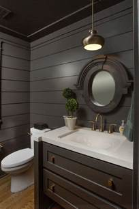 Dark Bathroom What Is Shiplap Cladding 21 Ideas For Your Home Home