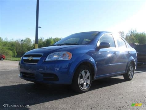 2009 bright blue chevrolet aveo lt sedan 29483873 gtcarlot car color galleries