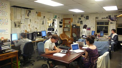 newspaper office layout top 50 college newspapers college choice