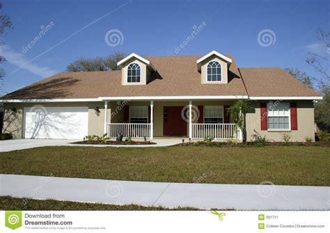 What Is A Ranch House by Ranch Style Home Stock Image Image 301711