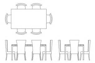 Autocad Dining Table Template Bloques Cad Autocad Arquitectura 2d 3d Dwg