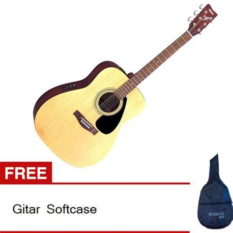 Harga Gitar Yamaha Lazada yamaha gitar akustik elektrik fx310 cokelat gratis