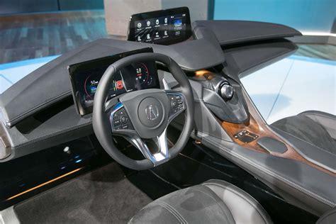 interior concept acura precision interior concept is simply high tech at