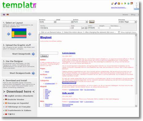 ps4 themes selbst erstellen templatr wordpress themes einfach selbst erstellen