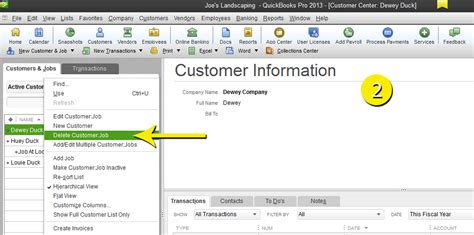 quickbooks jobs tutorial free quickbooks tutorials delete a customer in quickbooks