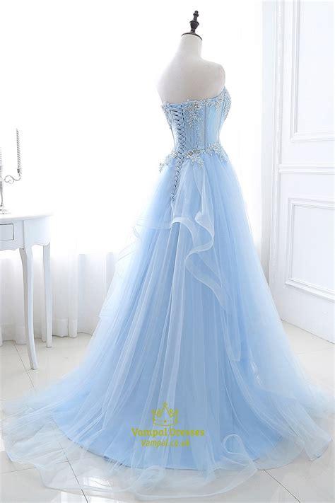 aqua beaded dress aqua blue illusion lace beaded bodice tulle prom dress