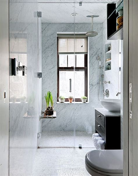 Cool Bathroom Showers 26 Cool And Stylish Small Bathroom Design Ideas Digsdigs