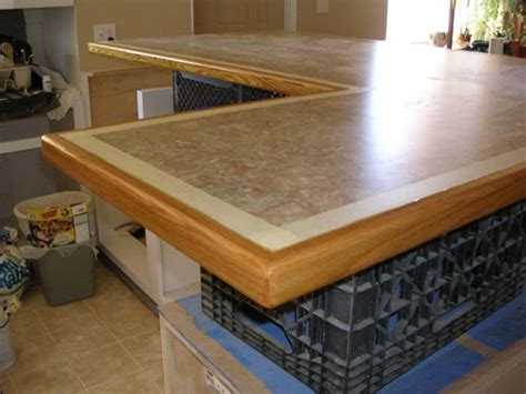 How To Trim Laminate Countertop by Countertop Edging Trim Images Laminate Countertop