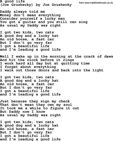 a song bruce springsteen song a lyrics