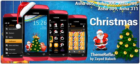 themes nokia asha 306 christmas theme for nokia asha 305 asha 306 asha 308