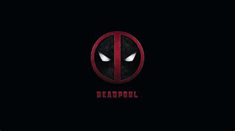 wallpaper logo deadpool logo background wallpapers 11584 hd wallpaper site