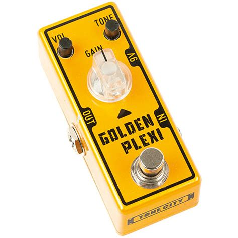 L Agie Golden City Mini tone city golden plexi 171 guitar effect