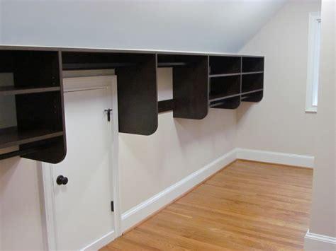 Slanted Ceiling Closet Design by Sloped Ceilings Atlanta Closet