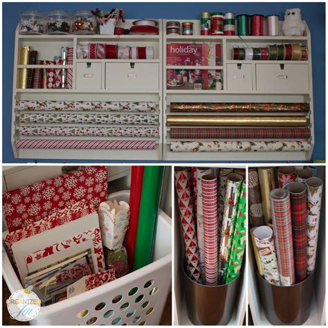 Where Can I Use A Pottery Barn Gift Card - holiday gift wrap station pretty neat living