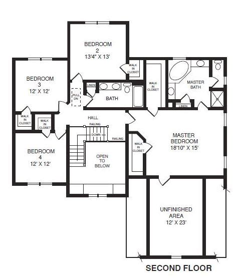 brookfield homes floor plans the brookfield by richmond s custom builders balducci inc