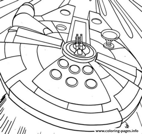 star wars millennium falcon coloring page star wars millenium falcon coloring pages printable