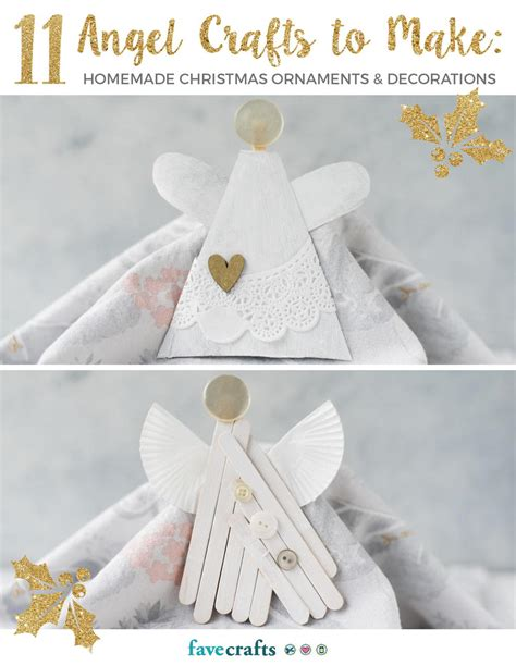 angel crafts   homemade christmas ornaments