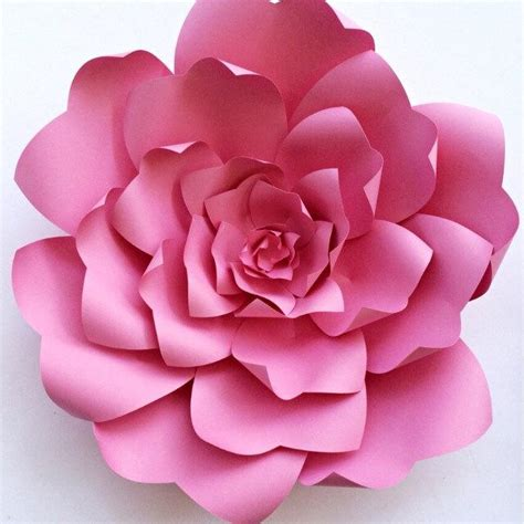 diy paper flower template paper flower tutorial paper flower backdrop paper flower