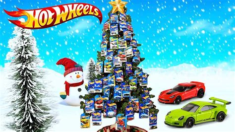 hot wheels starting christmas tree wheels tree