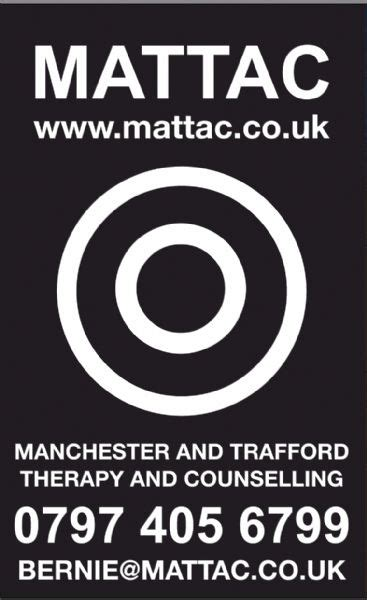 therapy manchester manchester and trafford therapy and counselling mattac