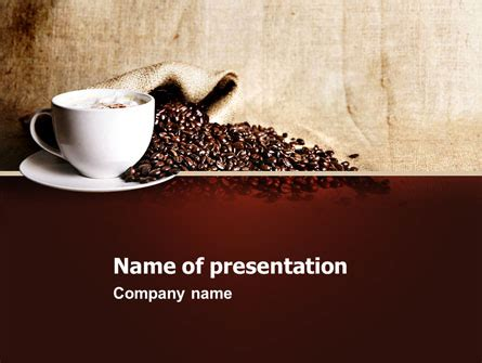 Starbucks Powerpoint Templates And Backgrounds For Your Presentations Download Now Coffee Powerpoint Template Free