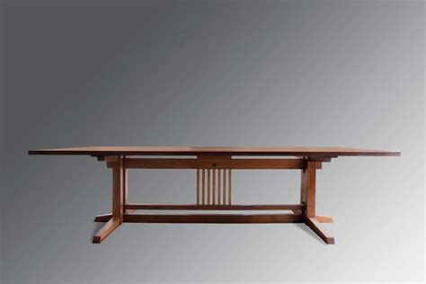 Japanese Dining Table Chennai Kenji Japanese Wood Work Auroville
