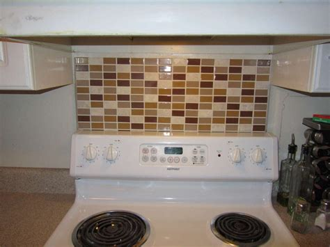 temporary tile backsplash portable temporary backsplash home crafts