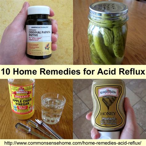 Heartburn Home Remedy by Home Remedies For Acid Reflux