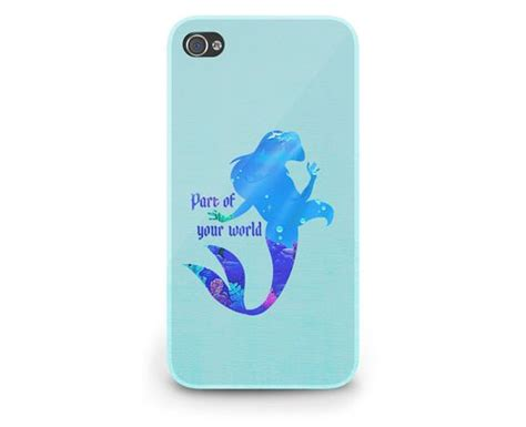 Mermaid Galaxy For Iphone Ipod Htc Sony Xperia Samsung ariel quote mermaid disney cover iphone