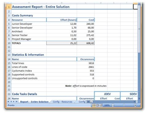 Application Assessment Report Template Whitepapers Migrating A Vb6 Application In 10 Easy Steps
