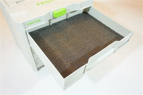 tool box drawer foam inserts drawer inserts for your festool combi systainer