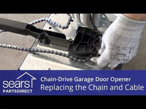 Garage Door Chain Tension How To Adjust The Chain Tension Of Garage Door Opener Doovi