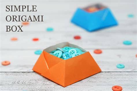 How To Do A Origami Box - simple origami box sas does simple origami box