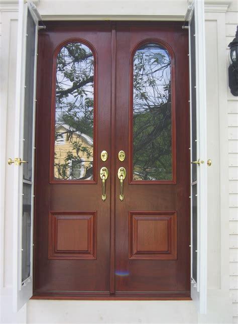 Exterior Glass Panel Double Door Db108 Model Www Glass Panel Front Doors