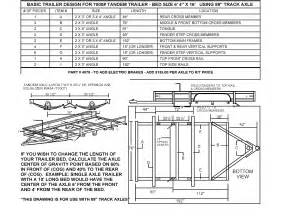 build your own utility trailer with chion trailers complete tandem axle trailer kit