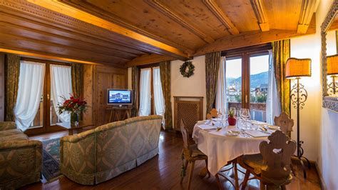appartamento a cortina suite appartamento superior hotel lusso nel centro di cortina