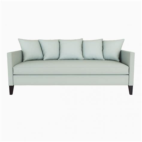 west elm dunham sofa west elm dunham down filled sofa toss back 3d model