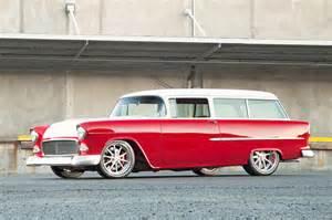1955 chevrolet chevy nomad wagon streetrod rod
