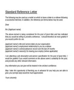 template reference letter 12 reference letter templates free sle exle