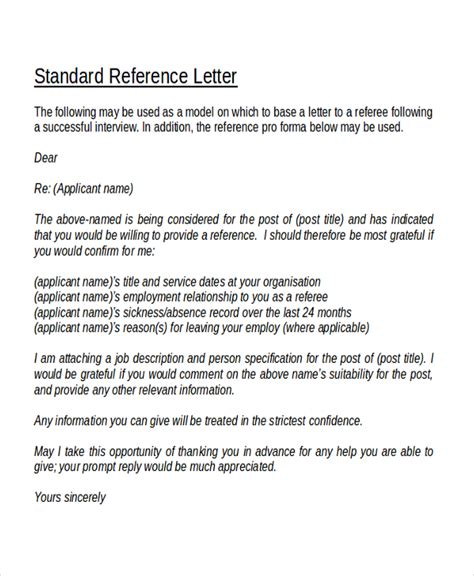 Financial Reference Letter Sle Sle Recommendation Letters Letter Idea 2018