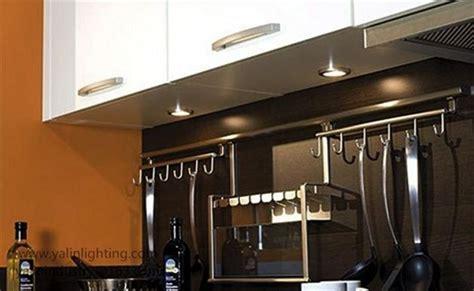 Round LED cabinet light, wardrobe disc lamp with splitter