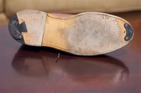 extending the of a leather sole alden of san diego